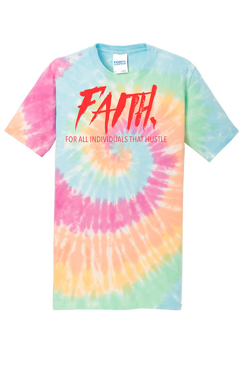 FAITH. Tye Dye Shirt