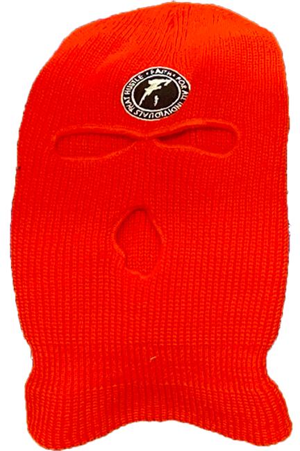 FAITH. Ski Mask- Red
