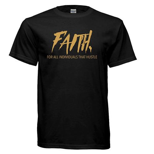 FAITH. Black and Gold