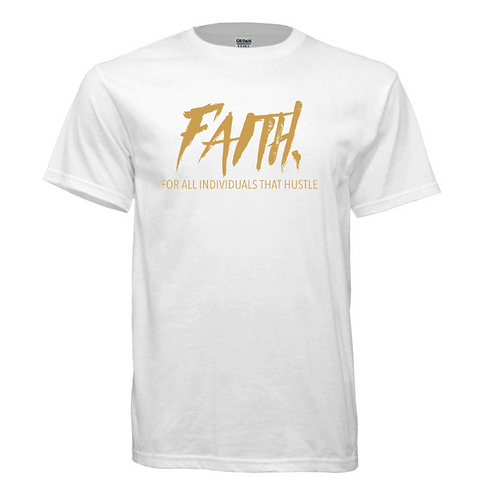 FAITH. White and Gold