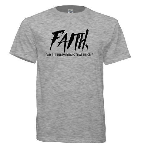 FAITH.Gray and Black