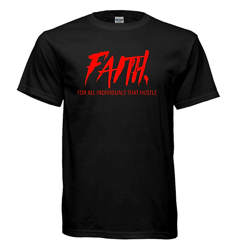 FAITH. Black and Red