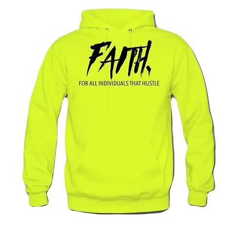 FAITH. Pullover - Neon