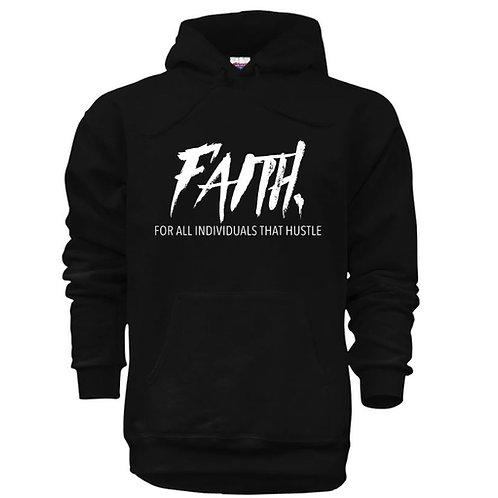 FAITH. Pullover Black- White