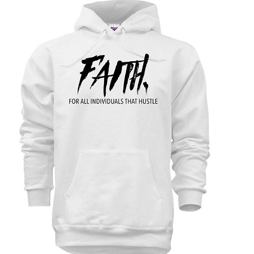 FAITH. Pullover White- Black