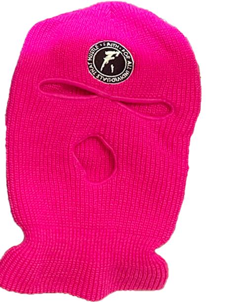 FAITH. Ski Mask- Pink