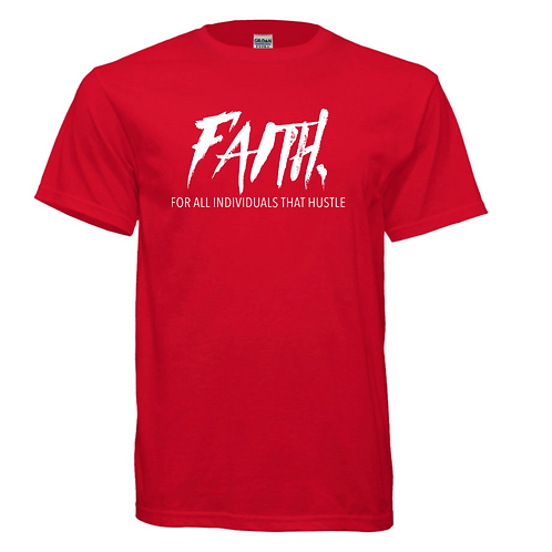 FAITH. Red and White