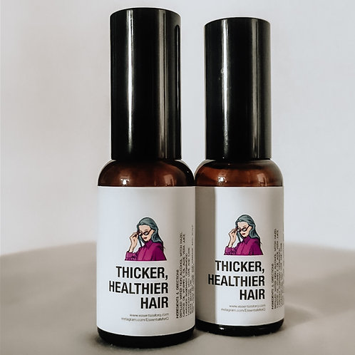 Thicker Healthier Hair (Hair Growth for Adults)