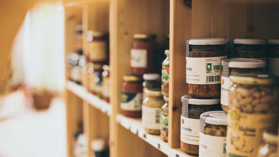 Producto alimentación envasado ecológico