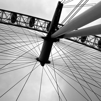 London Eye by Cristo Noir