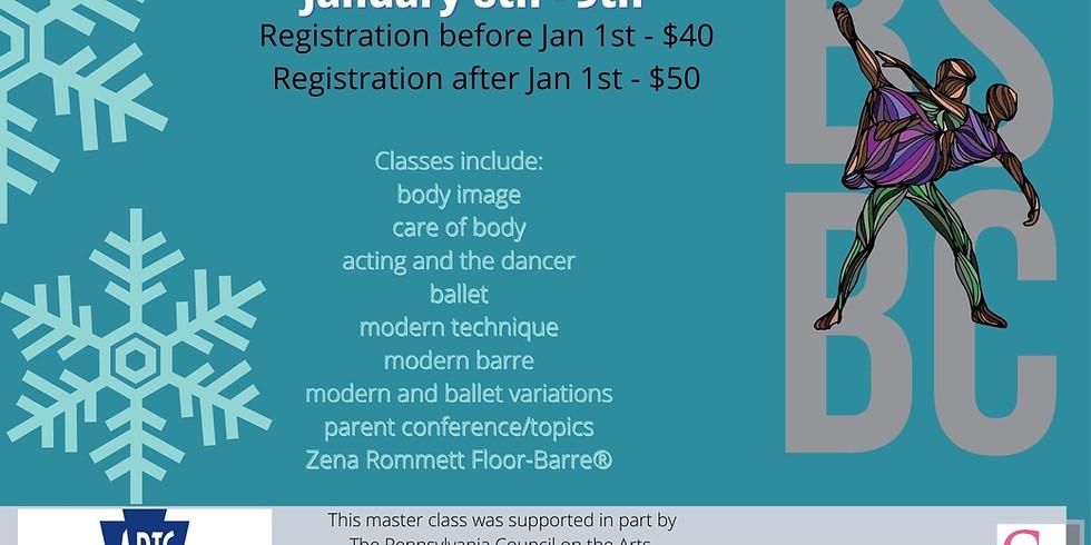 BSBC Winter Master Classes