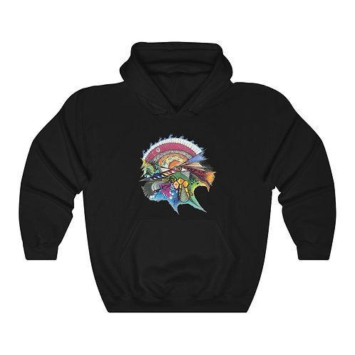 "Savage Art's ""Time"" Unisex Heavy Blend™ Hooded Sweatshirt"