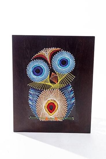String Art - Blue Owl