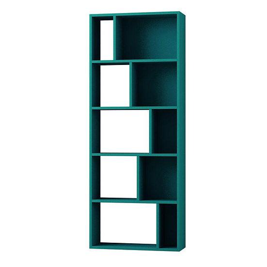 bookshelves Turquoise