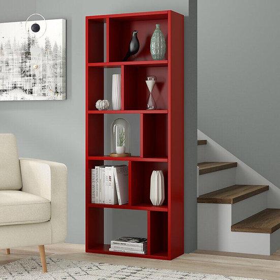 bookshelves Red