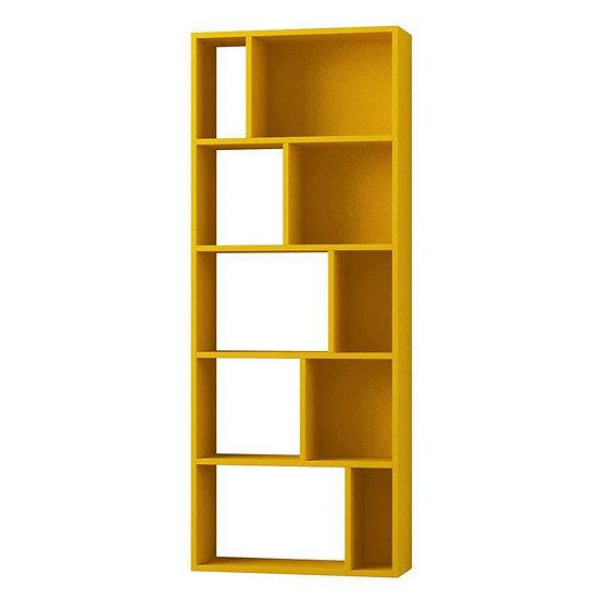 bookshelves Yellow