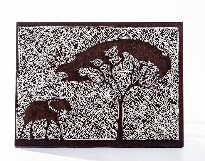 String Art-Africa