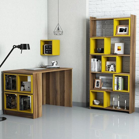 Smart desk & bookcase