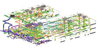 HVAC Revit Model