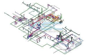 Plumbing Revit Model