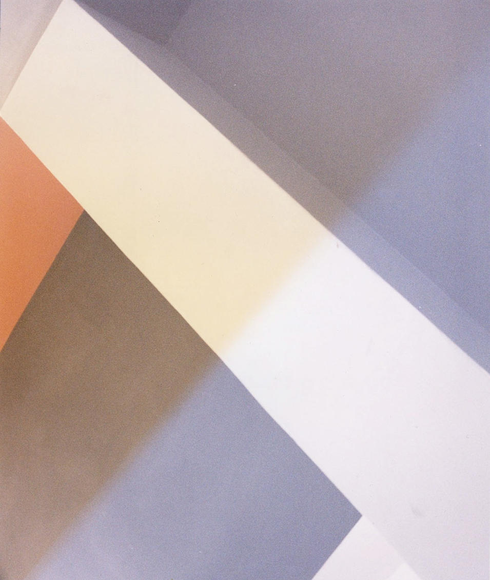 """Light Bleeds: The Bauhaus - stairwell (2019). From an ongoing series.10 x 12"""". Produced in collaboration with Caitlin Tomlinson"""