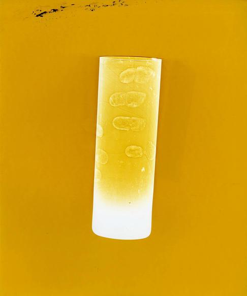"""This Glass. Unique colour photogram on lustre paper. 10 x 12"""". 2020"""
