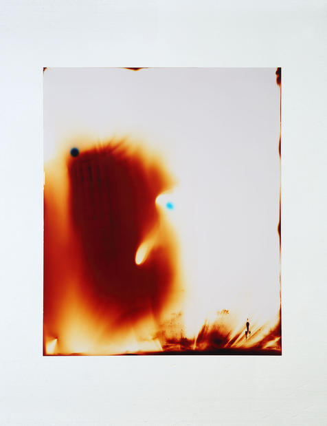 Light Bleeds (2017). 51 x 61cm.  (2017) Kim Coleman and Annette Knol.