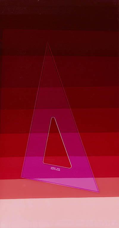 Unique. Unique colour photogram on lustre paper. Various dimensions. 2013.