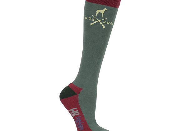 HyFASHION Fox and Hound Socks (Pack 3)