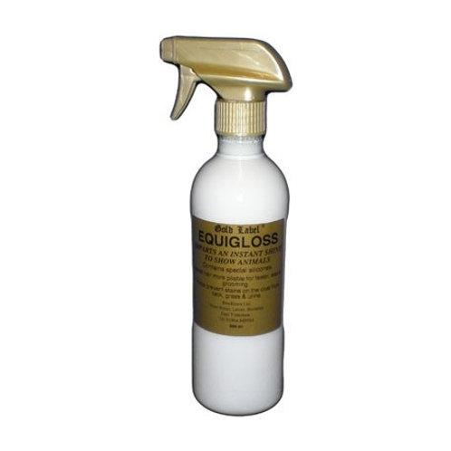 Gold Label Equigloss spray/refill  500ml