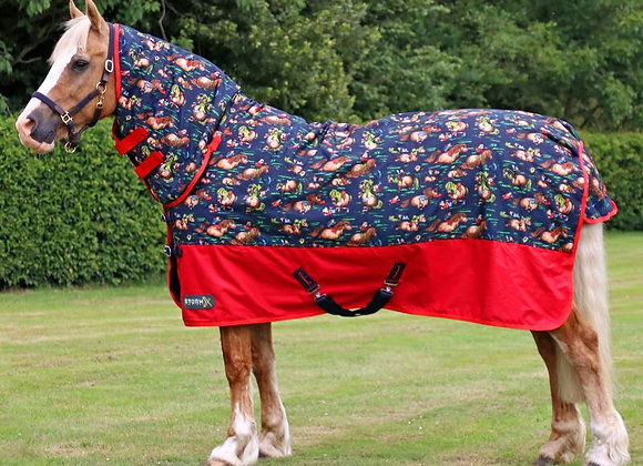 Thelwell 200g Storm x Turnout Rug