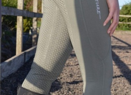 Signature Olive Green Riding Tights