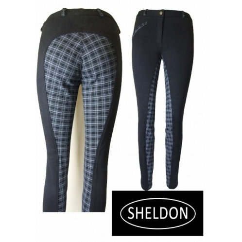 Sheldon Ladies Cozi Check Jodphurs