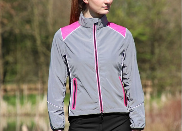 Hy Equestrian Silva Flash Two Tone Reflective Jacket
