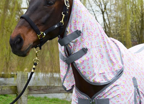 HyEquestrian 'Butterfly' Combi Fly rug