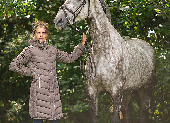 Cold Stream Kimmerston Long Quilted Coat
