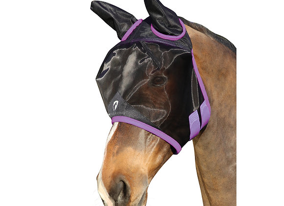 Hy Equestrian Mesh Half Mask with Ears