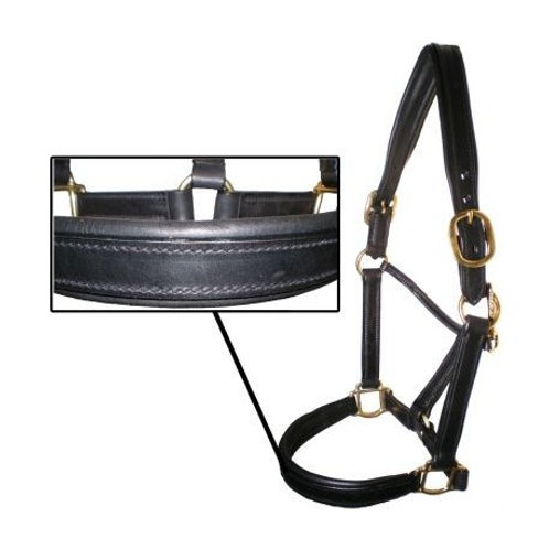 Soft Padded English Crafted Leather Headcollars