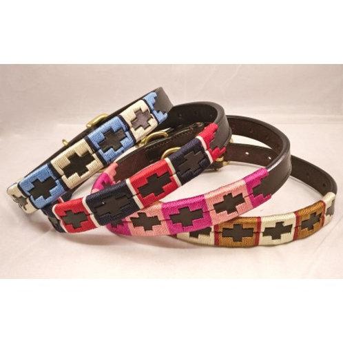 Polo Leather Dog Collars