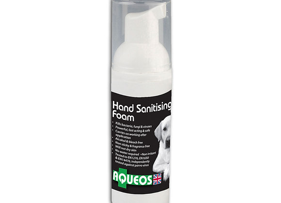 Aqueos Hand Sanitising Foam