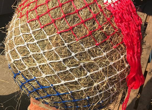 Red/White/Blue -Haylage Heavy Duty Net