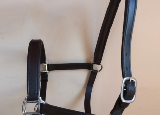 Sheldon Classic Padded Leather Head Collar