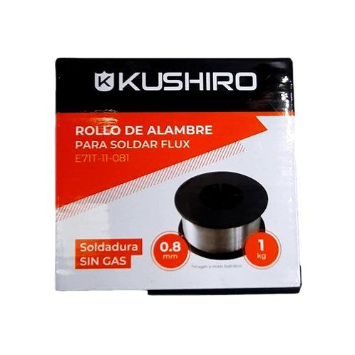 Alambre para Soldar 0,8 mm sin Gas