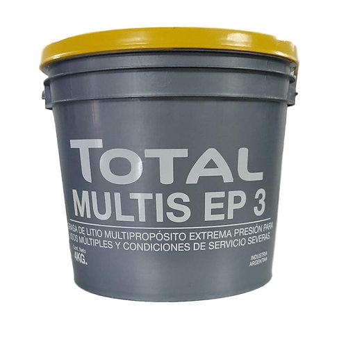 Grasa para Rodamientos / Bolilleros x 4kg - TOTAL