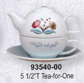 Swedish Flower Dinnerware - Teapot for One