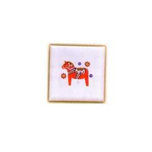 Ceramic Magnets - Red Dala Horse