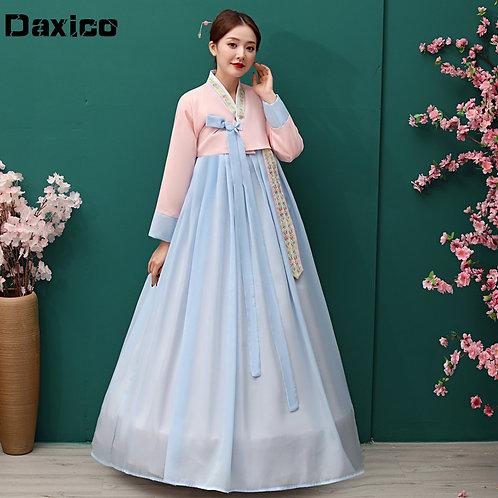 Traditional Korean Hanbok Dress Ancient Princess