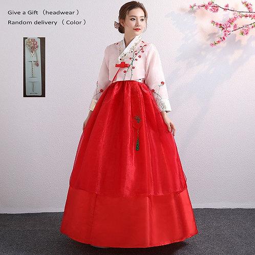 Korean Hanbok Traditional Performance Costumes for Women