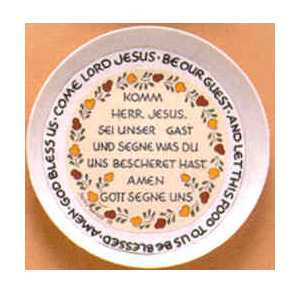 Decorator  Plates - German Prayer