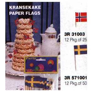 Swedish Party Flags